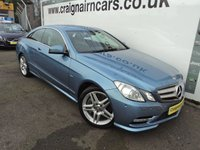 USED 2011 61 MERCEDES-BENZ E CLASS 4.7 E500 BLUEEFFICIENCY SPORT ED125 2d AUTO 402 BHP Two Owners 38000 Miles Full MB History
