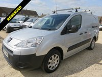 USED 2012 61 PEUGEOT PARTNER 1.6 HDI SE L2 750 LWB FULLY RACKED OUT 42747 MILES ONLY