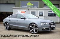 USED 2013 AUDI A5 2.0 SPORTBACK TDI SE TECHNIK *FULL LEATHER & NAV* *FROM £199 MONTHLY*