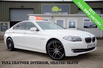 2013 BMW 5 SERIES 2.0 520D 181 BHP *FULL LEATHER INTERIOR* £15750.00