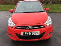 USED 2012 HYUNDAI I10 1.2 ACTIVE 5d 85 BHP £20 PER YEAR ROAD TAX, EXCELLENT MPG