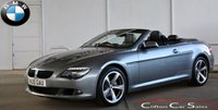 USED 2010 10 BMW 6 SERIES 635d SPORT CONVERTIBLE AUTO 282 BHP Finance? No deposit required and decision in minutes.