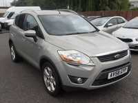 USED 2008 58 FORD KUGA  2.0 TDCi Titanium 5dr 4x4  WITH SERVICE HISTORY  NO DEPOSIT FINANCE ARRANGED, APPLY HERE NOW