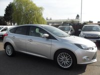 USED 2014 63 FORD FOCUS 1.0 ECOBOOST ZETEC 5DR  NO DEPOSIT PCP/HP FINANCE ARRANGED , APPLY HERE NOW