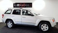 2006 JEEP GRAND CHEROKEE 3.0 V6 CRD LIMITED 5d AUTO 215 BHP £3950.00