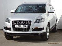 USED 2010 10 AUDI Q7 3.0 TDI QUATTRO SE 5d AUTO 240 BHP