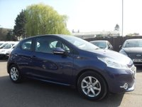 USED 2013 63 PEUGEOT 208 1.0 VTI ACTIVE 3DR VERY LOW MILEAGE/ LAST SERVICED AT 6,851 NO DEPOSIT PCP/HP FINANCE ARRANGED, APPLY HERE NOW