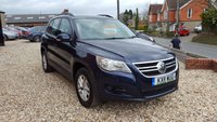 USED 2011 11 VOLKSWAGEN TIGUAN 2.0 S TDI BLUEMOTION TECHNOLOGY 5d 140 BHP