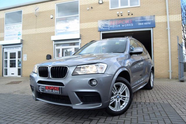 2014 14 BMW X3 XDRIVE20D M SPORT 5d AUTOMATIC 184 BHP