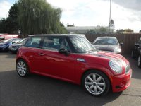 USED 2008 57 MINI HATCH COOPER 1.6 Cooper S 3dr  NO DEPOSIT FINANCE ARRANGED, APPLY HERE NOW