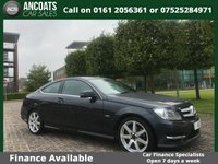 USED 2011 61 MERCEDES-BENZ C CLASS 2.1 C220 CDI BlueEFFICIENCY AMG Sport Edition 125 7G-Tronic 2dr FINANCE ARANGE+SAT-NAV+HISTORY