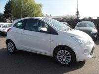 USED 2013 13 FORD KA 1.2 ZETEC 3DR [START STOP]  NO DEPOSIT PCP/HP FINANCE ARRANGED , APPLY HERE NOW