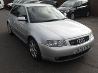 USED 2003 03 AUDI A3 1.8 S3 Quattro 3dr [225]  NEW CLUTCH AND FLYWHEEL  NO DEPOSIT FINANCE ARRANGED, APPLY HERE NOW
