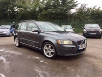 USED 2010 10 VOLVO V50 1.6D DRIVe SE 5dr [Start Stop]   PART EXCHANGE TO CLEAR FULL LEATHER