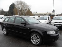 USED 2003 53 AUDI A4 1.9 TDI 100 SE 5dr NO DEPOSIT FINANCE ARRANGED, APPLY HERE NOW