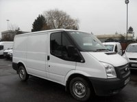 USED 2013 63 FORD TRANSIT 2.2 LOW ROOF VAN TDCI 100PS  NO DEPOSIT FINANCE ARRANGED, APPLY HERE NOW
