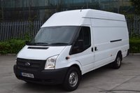 USED 2013 13 FORD TRANSIT 2.2 T350 RWD 5d 124 BHP XLWB H/ ROOF DIESEL MANUAL JUMBO VAN  ONE KEEPER,FSH,EURO 5 ENGINE,SIX SPEED GEARBOX