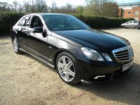 USED 2011 60 MERCEDES-BENZ E CLASS 3.0 E350 CDI BLUEEFFICIENCY SPORT 4d AUTO 265 BHP Full Heated leather seats, SatNav