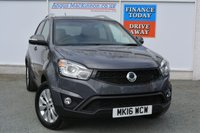 USED 2016 16 SSANGYONG KORANDO 2.2 EX 5d 176 BHP ONE OWNER - JUST 6000 MILES - SSANGYONG WARRANTY - LIKE NEW