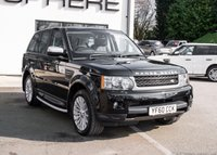 USED 2010 60 LAND ROVER RANGE ROVER SPORT 3.0 TDV6 SE 5d AUTO 245 BHP