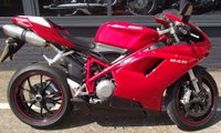 USED 2010 10 DUCATI 848 848 RED TOTALLY STANDARD FULL HISTORY
