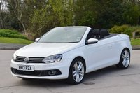 USED 2013 13 VOLKSWAGEN EOS 2.0 SPORT TDI BLUEMOTION TECHNOLOGY 2d 139 BHP CARED AND CHERISHED BY ITS 1 OWNER.