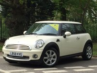 2009 MINI HATCH ONE 1.4 ONE 3d 94 BHP £5295.00
