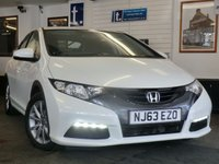 2013 HONDA CIVIC 1.8 I-VTEC SE 5d 140 BHP £8999.00