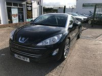 USED 2011 61 PEUGEOT RCZ 1.6 THP GT 2d 156 BHP 26,000 Miles, Full Service History, Heated Leather Seats, 1 Former Keeper, Bluetooth