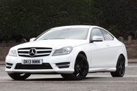 USED 2013 13 MERCEDES-BENZ C CLASS 1.6 C180 BLUEEFFICIENCY AMG SPORT 2d 154 BHP Just come in - stunning car!