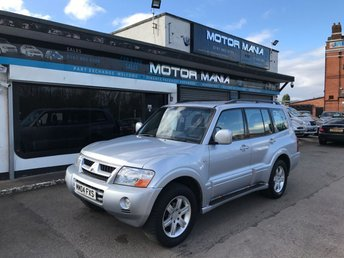 View our MITSUBISHI SHOGUN