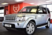 USED 2012 12 LAND ROVER DISCOVERY 3.0 4 SDV6 XS 5d AUTO 7 SEATER