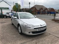 USED 2009 59 CITROEN C5 1.6 VTR PLUS HDI NAV 4d 110 BHP Satellite Navigation, Bluetooth Interface, Diesel