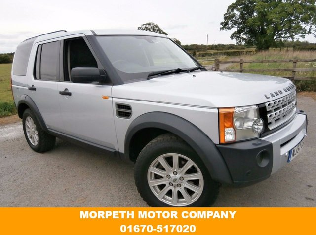 2007 57 LAND ROVER DISCOVERY 2.7 3 TDV6 SE 5d AUTO 188 BHP