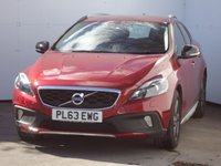 USED 2014 63 VOLVO V40 1.6 D2 CROSS COUNTRY LUX NAV 5d AUTO 113 BHP TOP OF THR RANGE CAR
