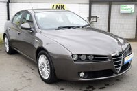 USED 2006 06 ALFA ROMEO 159 2.4 JTD 20V LUSSO 4d 200 BHP * * BUY NOW PAY IN 6 MONTHS * *