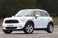 USED 2011 61 MINI COUNTRYMAN 1.6 ONE 5d 98 BHP Excellent Condition