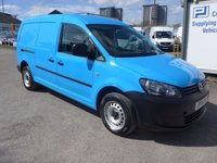 USED 2011 11 VOLKSWAGEN CADDY MAXI 1.6 C20 TDI 102 BHP, AIR CONDITIONING, FULL SERVICE HISTORY