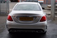 USED 2015 65 MERCEDES-BENZ C CLASS 2.1 C250 BLUETEC AMG LINE 4d 204 BHP 1 OWNER++LOW MILES++SAT NAV++FULL LEATHER