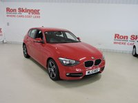 USED 2013 13 BMW 1 SERIES 1.6 114I SPORT 5d 101 BHP