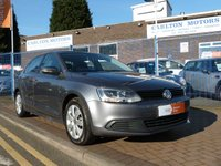 USED 2012 61 VOLKSWAGEN JETTA 1.6 S TDI BLUEMOTION TECHNOLOGY DSG 4d AUTO  DUE IN ..... AIR CONDITIONING ~ BLUETOOTH ~ £30 ROAD TAX