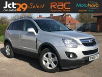 USED 2015 65 VAUXHALL ANTARA 2.2 EXCLUSIV CDTI S/S  One Owner From New!