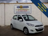 USED 2012 12 HYUNDAI I10 1.2 ACTIVE 5d Full Dealer History One Owner No Deposit £87Per Mth £20 Per Month