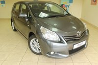 USED 2012 12 TOYOTA VERSO 2.0 TR D-4D 5d 125 BHP AIR CONDITIONING, ALLOY WHEELS, GREY INTERIOR, SERVICE HISTORY
