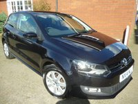 USED 2014 14 VOLKSWAGEN POLO 1.4 MATCH EDITION 3d 83 BHP Cruise Controll & Bluetooth