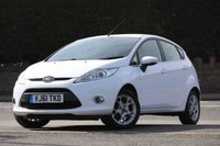 USED 2012 61 FORD FIESTA 1.4 ZETEC TDCI 5d 69 BHP 2 Lady Owners + F.S.H