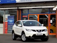 USED 2014 14 NISSAN QASHQAI 1.5 DCi VISIA 5dr * New Model * *ONLY 9.9% APR with FREE Servicing*