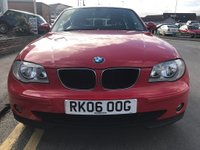 USED 2006 06 BMW 1 SERIES 1.6 116I SE 5d 114 BHP 12 months' AA Breakdown Cover