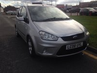 USED 2008 08 FORD C-MAX 1.8 ZETEC 5d 116 BHP 12 months' AA Breakdown Cover