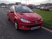 USED 2005 05 PEUGEOT 206 1.6 SPORT HDI 5d 108 BHP 12 months' AA Breakdown Cover